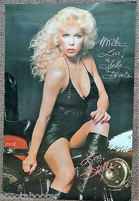 "STELLA STEVENS 1960 Playboy Playmate Autographed AUTHENTIC 20"" X 30"" Poster"