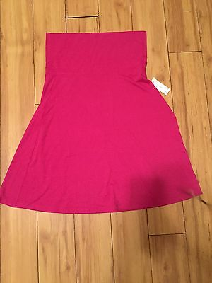 Old Navy Pink Maternity Skirt Size Small