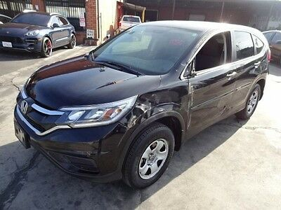 2015 Honda CR-V LX 2015 Honda CR-V LX Salvage Wrecked Repairable! Priced To Sell! Wont Last! L@@K!!