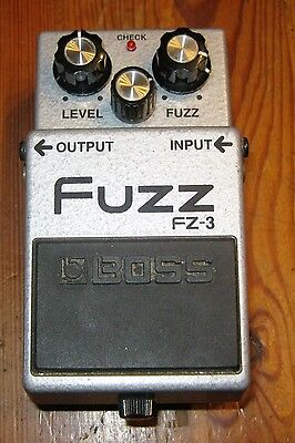 BOSS FZ-3 fuzz box distorsion pédale d'effets guitare