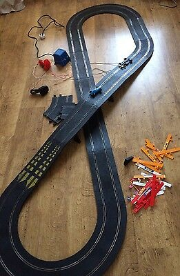 scalextric track vintage  1970s ? Figure Of 8 Still Works