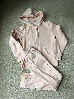 Girls H&M Tracksuit Age6-7