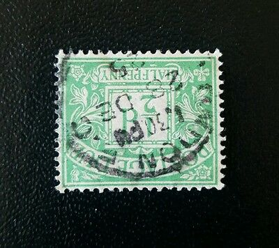 LL16 GB 1924-31 SG D10 BLOCK GVR Postage Due Stamps INVERTED