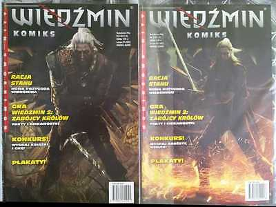 THE WITCHER Reason of State  RACJA STANU - 2 comics book - Polish edition - rare