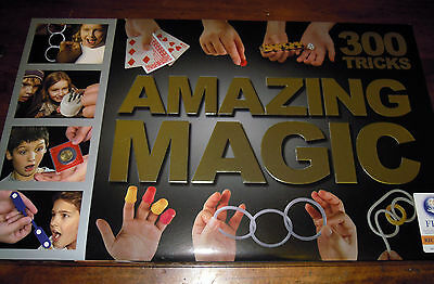 Amazing Magic Trick Set Brand New 300 Tricks! With Full Instructions Great Value