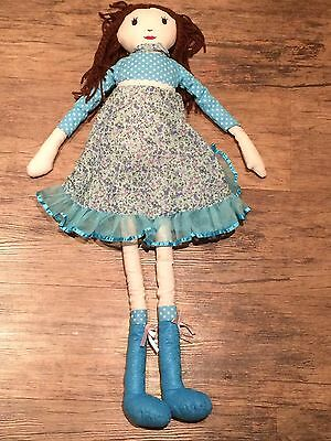 """Arcadia 27"""" Plush Rag Doll - Immaculate Condition"""