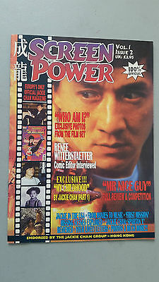 Jackie Chan Screen Power Magazine Vol 1 Issue 2