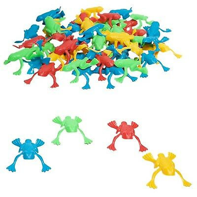 Fun Express Plastic Jumping Frogs - 144 Piece Pack 144 Count