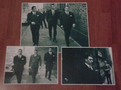 The Kray Twins Pictures. Signed. The Krays Firm. Legend. Crime. Gangsters.