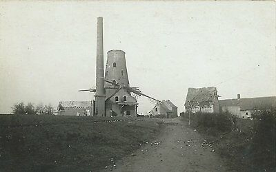 vintage postcard WWI German observation tower at Clerken