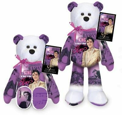 Elvis Presley The King of Rock and Roll Teddy bear