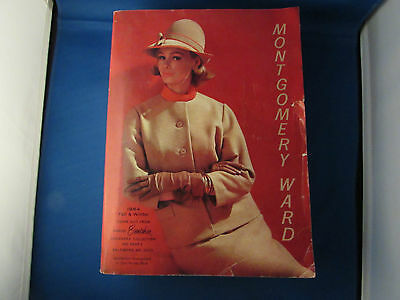Vintage MONTGOMERY WARD 1964 Fall Winter Catalog Fashion Baltimore, MD