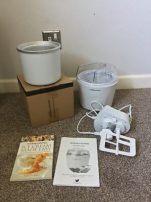 Ice Cream Maker With Spare Bowl