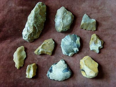 Palaeolithic tool collection 2 - UK