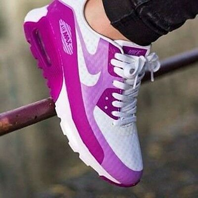Nike Air Max 90 Ultra Br # 725061 102 / Women's Trainers/ Size Uk 4.5 Eu 38