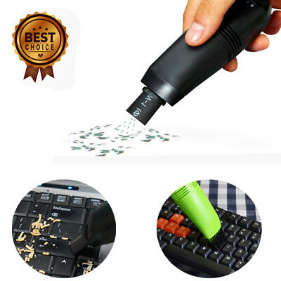 Moden Computer Laptop PC Keyboard USB Mini Vacuum Cleaner Desktop Accessories