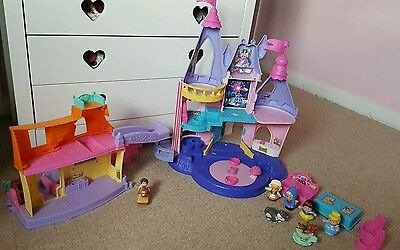 Fisher Price Little People Disney Princess Palace Castle and stable