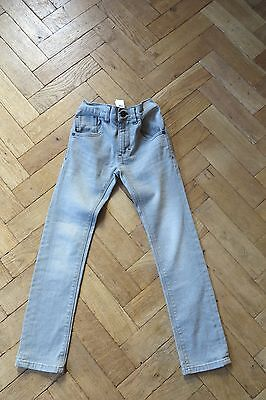 Boys Skinny Jeans Grey  Age 7 Years From Next