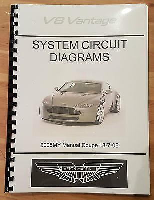 aston martin v8 vantage electrical wiring circuit diagrams. Black Bedroom Furniture Sets. Home Design Ideas
