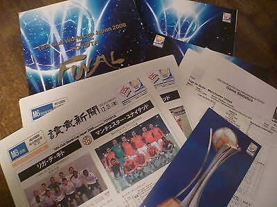 FIFA Club World Cup 2008 (Japan) package - Manchester United