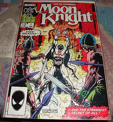 Fist Of Khonshu Moon Knight #1 1985 Near Mint Condition