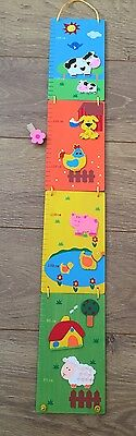 WOODEN HEIGHT CHART (girl Or boy)