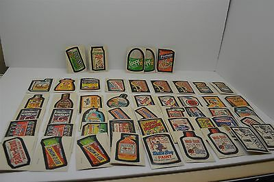 Topps Wacky Packages 1982 Series Album Stickers Lot of 50 Replacements