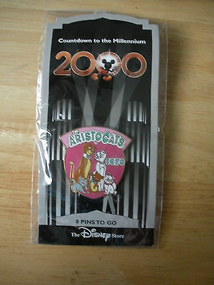 Disney DS Countdown to the Millennium #9 The Aristocats Pin Duchess Marie