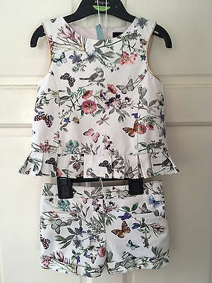 Gorgeous M&S Autograph top & shorts set, age 3-4 years