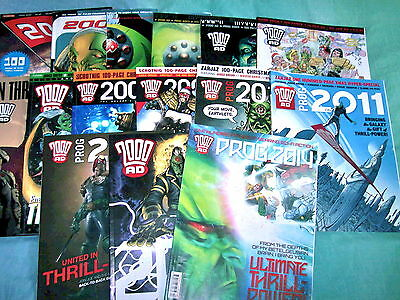 2000Ad Year Ends Collection 2000-2014 Inc All In Excellent Cond Judge Dredd