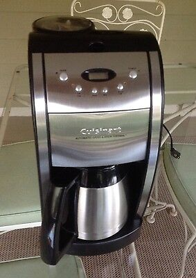 Cuisinart Thermal Automatic Grind & Brew DGB-600BC Coffee Maker