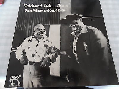 Oscar Peterson And Count Basie - Satch & Josh Again - Big Band Jazz Pablo Lp