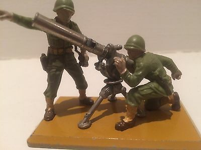Britains Deetail WW2 British Infantry Mortar and Crew