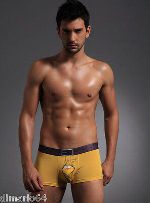 "Boxer Sexy Homme CUA ""What's Up?""NEUF taille M(S) jaune"