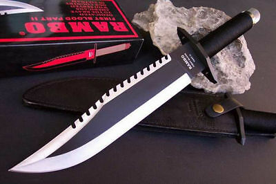 Rambo SYLVESTER STALLONE Survival Hunting Metal Knife Machete Collection Set