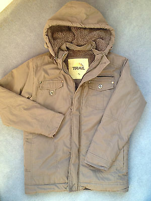 Trail Girls Parka Coat Age 13 Years - VGC