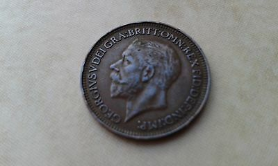 1931 George V Farthing -  Low Mintage Year - Very Collectable
