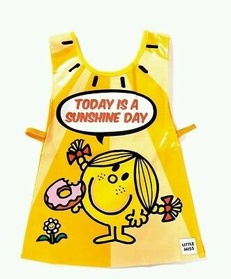 Little Miss Sunshine Kids Children's Wipe Clean PVC Tabard Crafts Cooking Baking