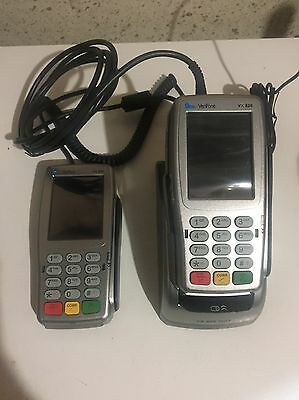 Verifone VX 820 PIN Pad w/ Card Reader And Extra Handheld