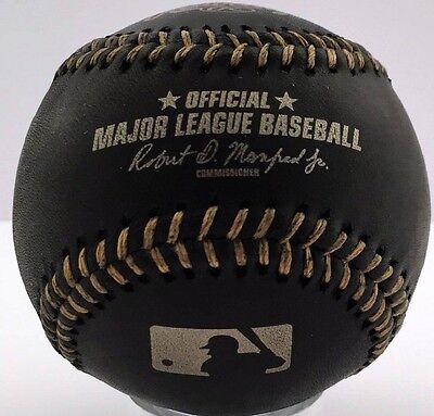 Rawlings Black Official Major League Game Baseball Brand New Boxed Manfred