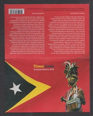 East Timor Independence Stamp Pack 2002