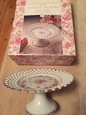 Marks And Spencer Cake Stand Summer Flowers