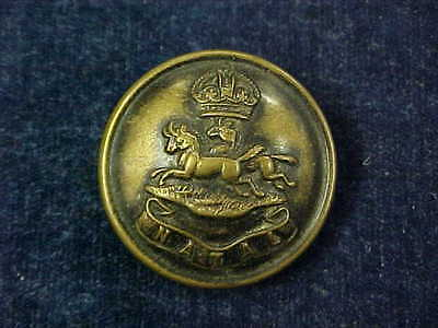 Orig Pre WW1 Darkened Brass Button Natal Mounted Rifles Special Quality