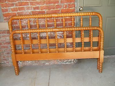 Antique Jenny Lind Bed Full Size Headboard Footboard And Side Rails