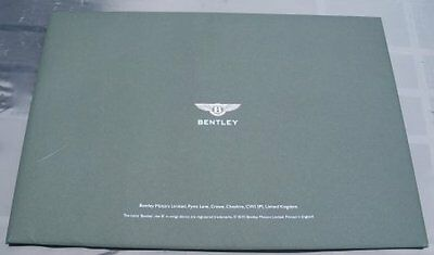 Papers04 - THE NEW BENTLEY CONTINENTAL GT Advertising Literature