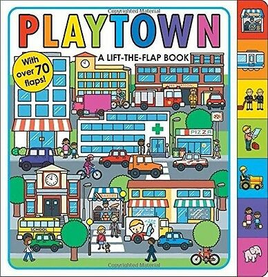 Playtown (Lift the Flap Book), Roger Priddy, New Book