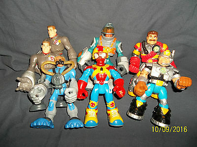 Lot Of Imaginext Action Figures