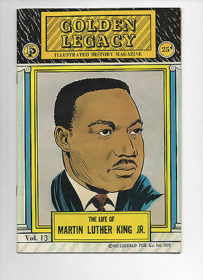 Golden Legacy # 13 - 1972 - The Life of Martin Luther King Jr.
