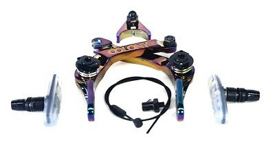 Colony Brethren BMX Brakes - Rainbow / Oil Slick / Jet fuel Caliper Bike Brake