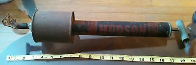 Old Vtg Hudson Bug Pest Garden Sprayer ~ Rustic Primitive Farm Tool Barn Decor